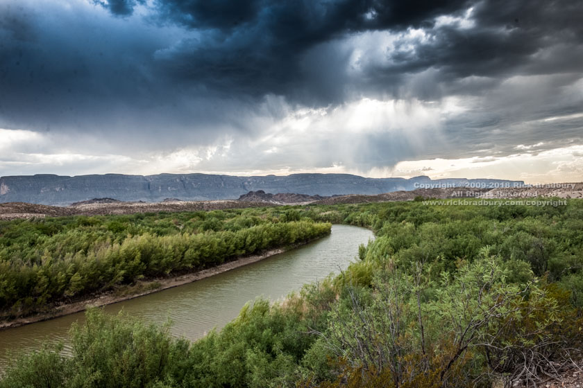 The Rio Grande from the River Road BBNP 2018-06-24