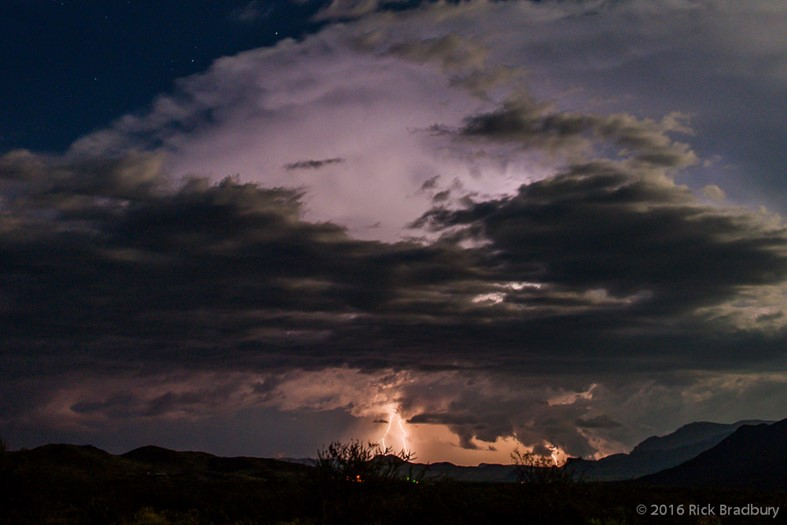 Lightning Storm Friday September 16, 2016